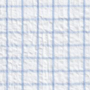 Blue Seersucker Fabric
