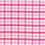 Pink Check Fabric