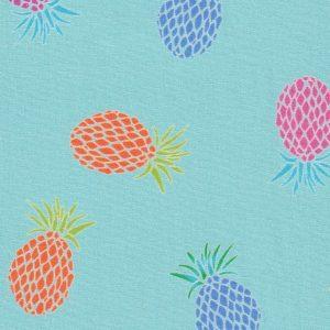 Pineapple Print Fabric: Print 2405 - 100% Cotton   Fruit Fabric