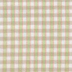 Lime Plaid Fabric