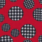 Houndstooth Dot Fabric