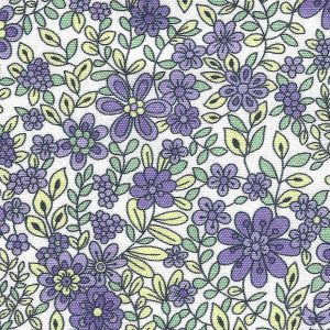 Purple Floral Fabric