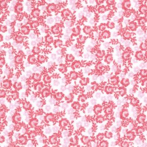 Pink Floral Fabric - 2426