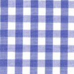 """Royal Gingham Fabric: 1/4"""" Check 