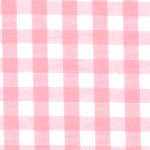 "Pink Gingham Fabric: 1/4"" - Wholesale Cotton Fabric"