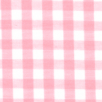 """Pink Gingham Fabric: 1/4"""" - Wholesale Cotton Fabric"""