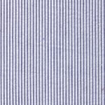 "Navy Seersucker Fabric: 1/16"" Stripes 