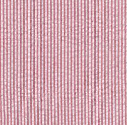 Mini Striped Seersucker Fabric - Red   Red Seersucker Fabric