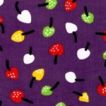 Fruit Corduroy Fabric - CD8 Grape | Corduroy Fabric Wholesale