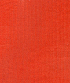 Pumpkin Orange Corduroy Fabric | 100% Cotton Corduroy