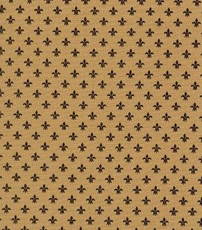 Bronze Fleur De Lis Fabric | Fleur De Lis Pattern Fabric