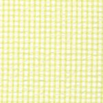 Green Seersucker Fabric | Seersucker Check Fabric - Chartreuse Green