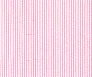 Pink Seersucker Fabric | Striped Seersucker Fabric - Pink