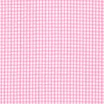 Seersucker Check Fabric - Bubblegum Pink | Pink Seersucker Fabric