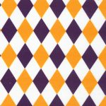 Purple and Gold Fabric