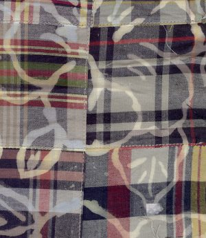 Cotton Patchwork Fabric: Blue and Yellow | Patchwork Fabric Wholesale