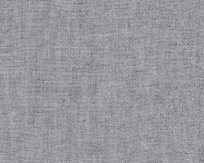 Grey Chambray Fabric - Wholesale Cotton Fabric - Charcoal Color