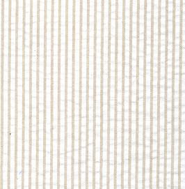 Khaki Seersucker Fabric | Striped Seersucker Fabric - Khaki