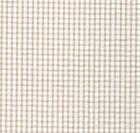 Khaki Seersucker Fabric | Seersucker Check Fabric - Khaki