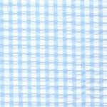 Seersucker Check Fabric – Aqua Blue | Aqua Seersucker Fabric