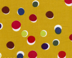Polka Dot Corduroy Fabric - CD42 | Corduroy Fabric Wholesale