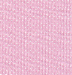 White Dots on Pink - Pique #106 | Cotton Pique Fabric Wholesale