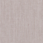 "Chocolate Brown Micro Stripe Fabric - 1/32"" Stripe 