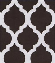 Brown Quatrefoil Fabric | Quatrefoil Fabric | Wholesale Fabric - Print #1416