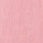 "Raspberry Micro Stripe Fabric: 1/32"" Strip | Thin Striped Fabric"