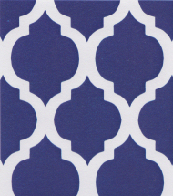 Grape Quatrefoil Fabric | Quatrefoil Fabric | Wholesale Fabric - Print #1419