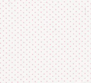 Pink Polka Dot Fabric | Cotton Pique Fabric Wholesale