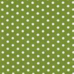 Polka Dot Corduroy Fabric - Lime | Green Corduroy Fabric