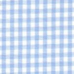 "Blue Gingham Fabric - 1/8"" Check 