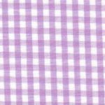 Lilac Gingham Fabric: 1/8"
