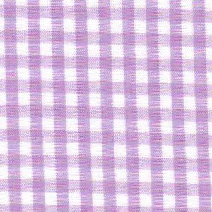 """Lilac Gingham Fabric: 1/8""""   Wholesale Cotton Fabric"""