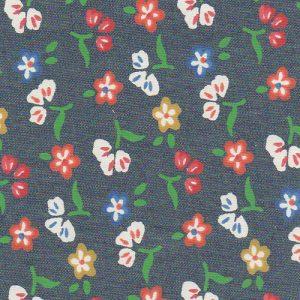 Floral Denim Fabric - 100% Cotton   Denim Fabric Wholesale