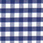 "Nautical Gingham Fabric - 1/4"" Check 