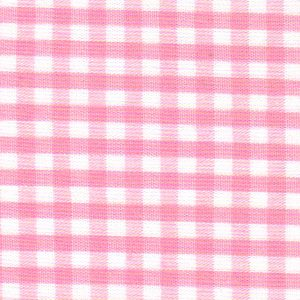 "Pink Gingham Fabric - 1/8"" Check 