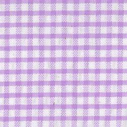 Lavender Seersucker Check Fabric | Seersucker Fabric Wholesale