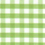 "Sprout Green Gingham Fabric: 1/4"" Check 