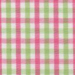 Pink and Green Check Fabric - T-/27 | Pink and Green Fabric