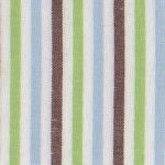 Brown, Blue and Green Stripe Fabric | Multi Colored Stripe Fabric