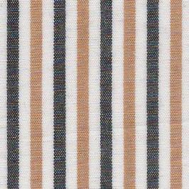 Black and Gold Stripe Fabric | Multi Colored Stripe Fabric