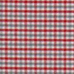 Red and Grey Check Fabric - #T82 | Red and Grey Fabric