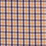 Gold and Purple Check Fabric - #T83 | Gold and Purple Fabric