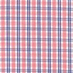 Orange and Blue Check Fabric | Wholesale Gingham Fabric - T94