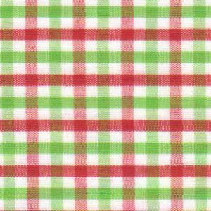 Red and Green Check Fabric | Red and Green Fabric