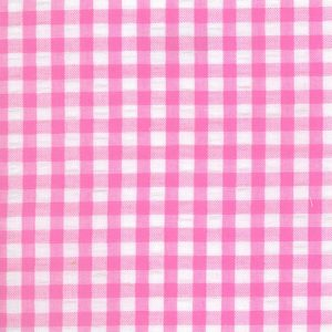 Pink Seersucker Fabric - Wholesale Cotton Fabric - WS-S18