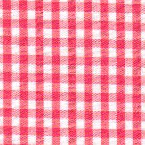 "Watermelon Gingham Fabric - 1/8"" | 60"" Gingham Fabric"