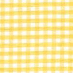 "Yellow Gingham Fabric - 1/8"" Check 